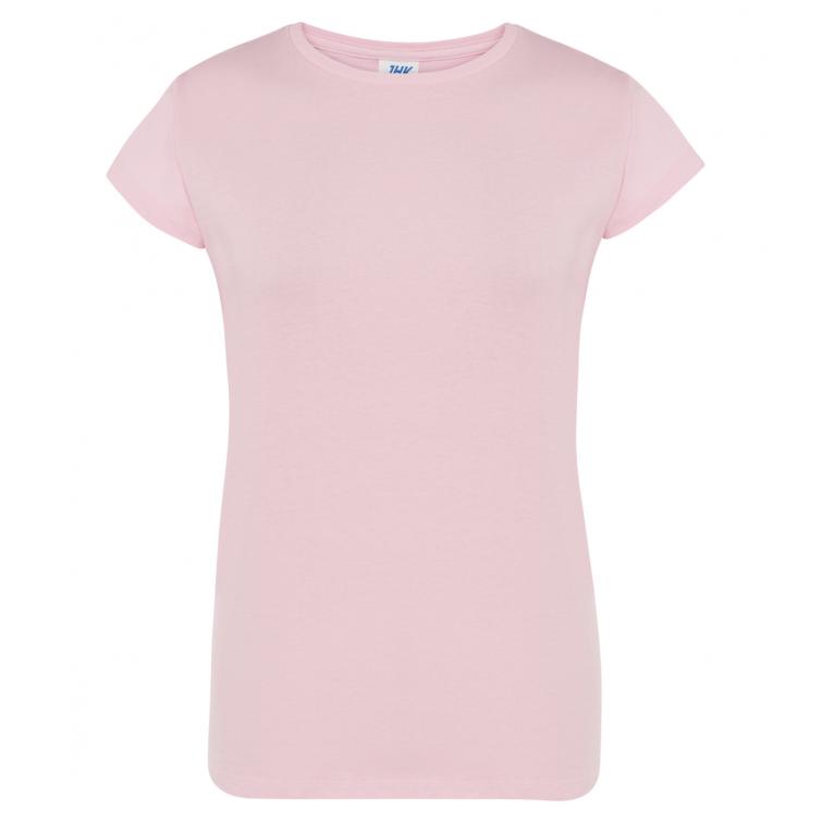 T-Shirt Różowy - Damski