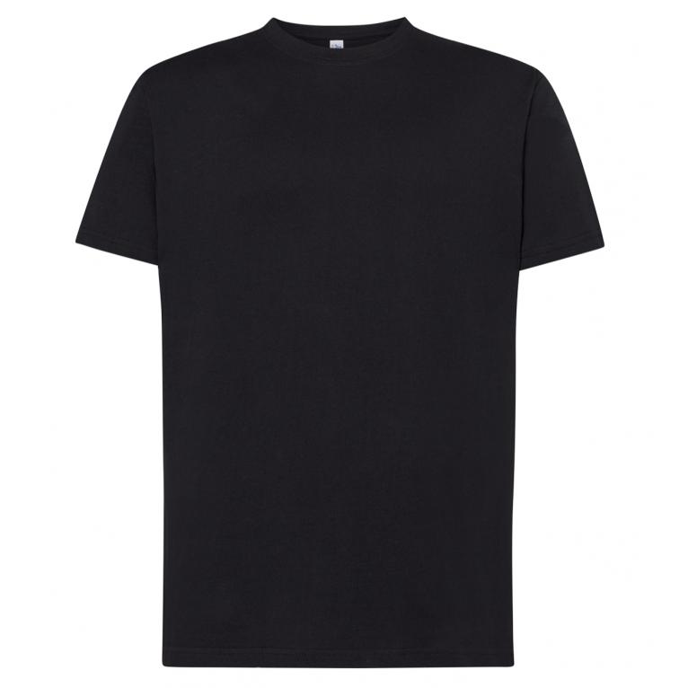 T-Shirt Czarny - Męski