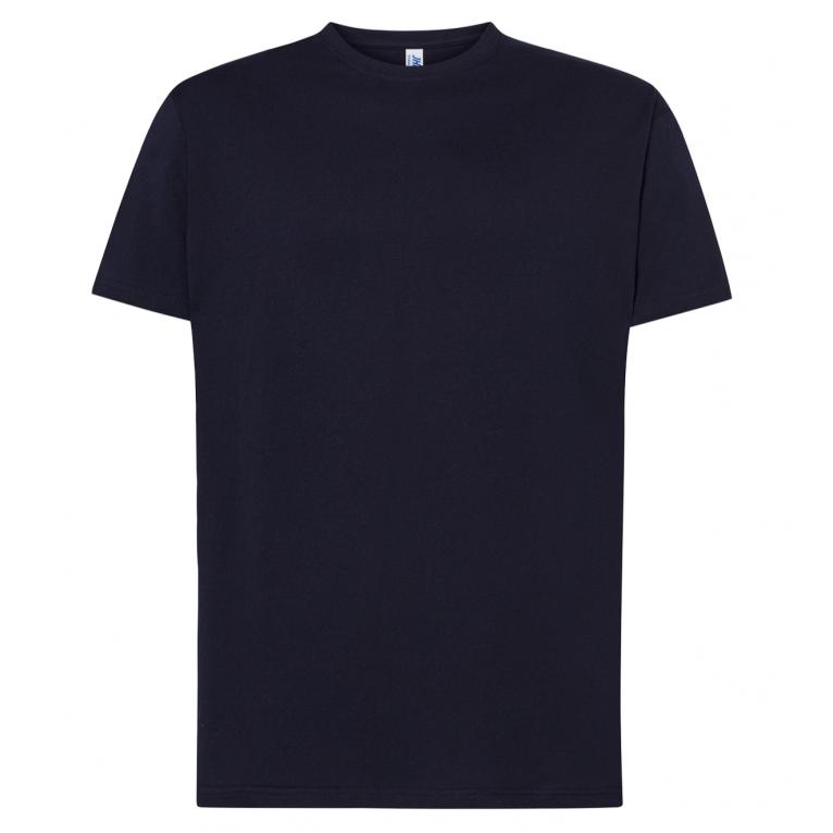T-Shirt Granatowy - Męski