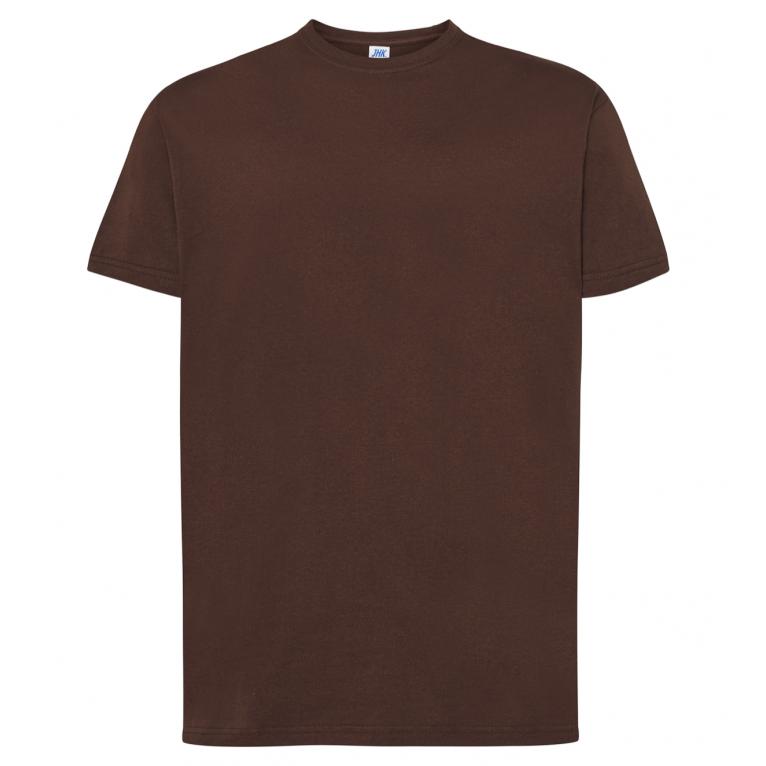 T-Shirt Brązowy - Męski