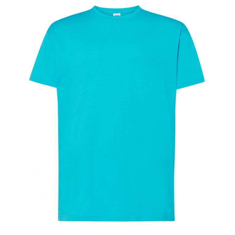 T-Shirt Turkusowy - Męski