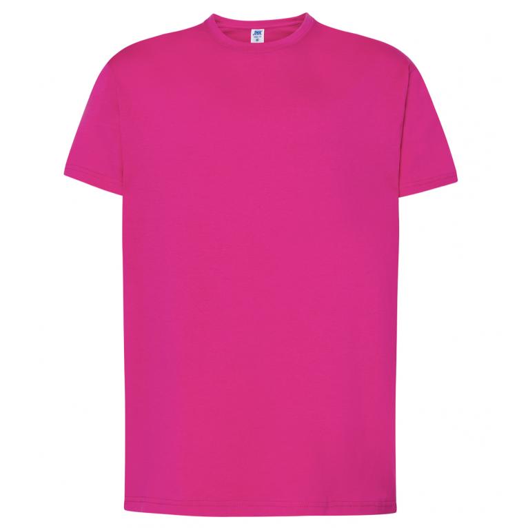 T-Shirt Fuksja - Męski