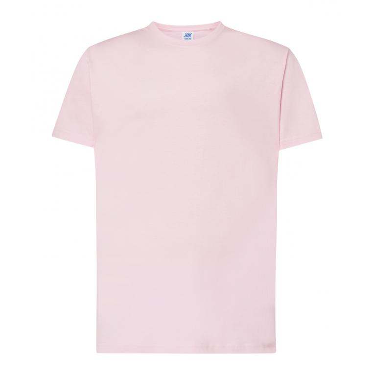 T-Shirt Różowy- Męski