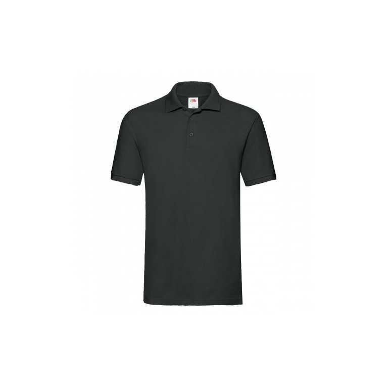 Koszulka Polo Czarna -...