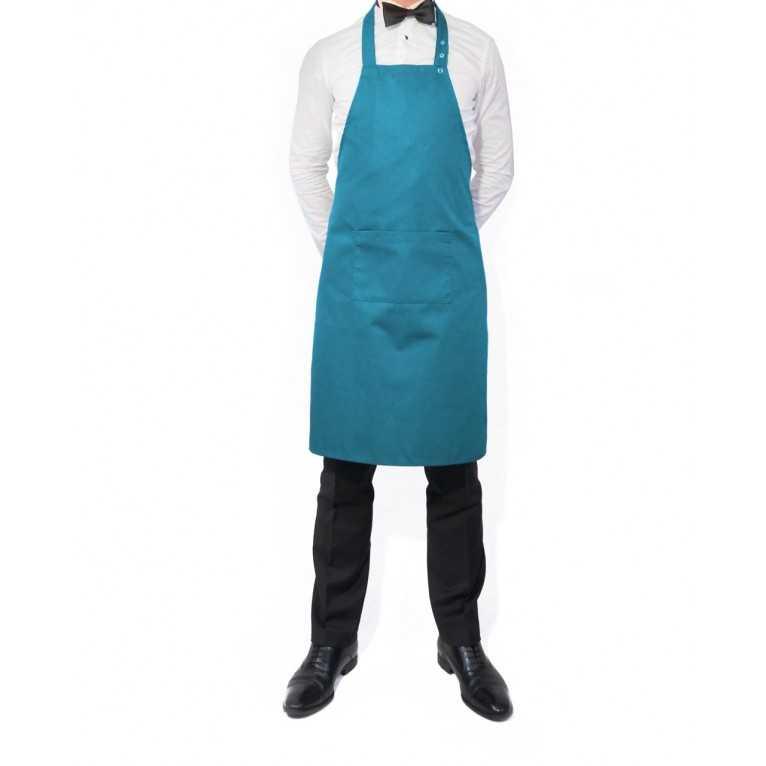 Fartuch kelnerski – Turkusowy