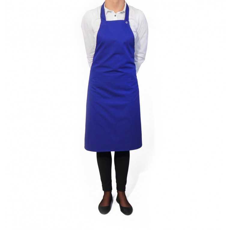 Fartuch kelnerski – Niebieski