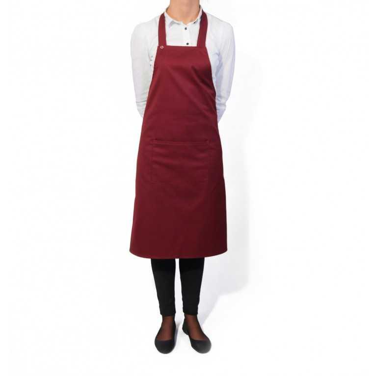 Fartuch kelnerski – Bordowy