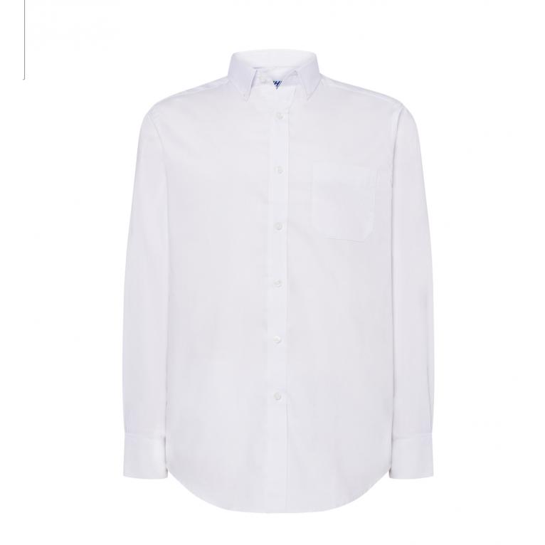 Koszula Męska Biała - Długi...