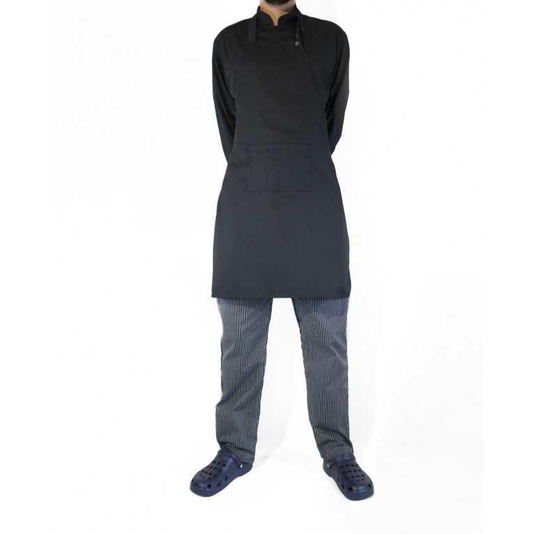 Fartuch kucharski – Czarny