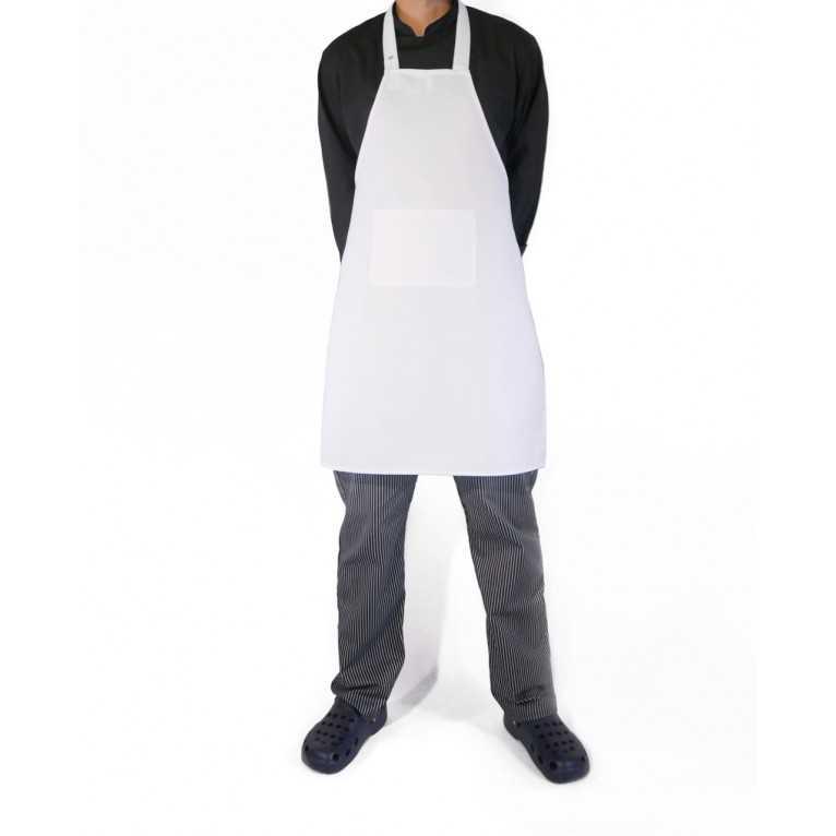 Fartuch kucharski – Biały