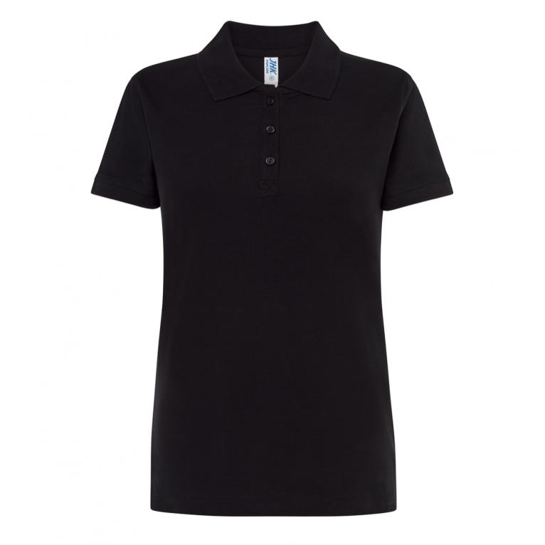 Koszulka Polo Czarna - Damska