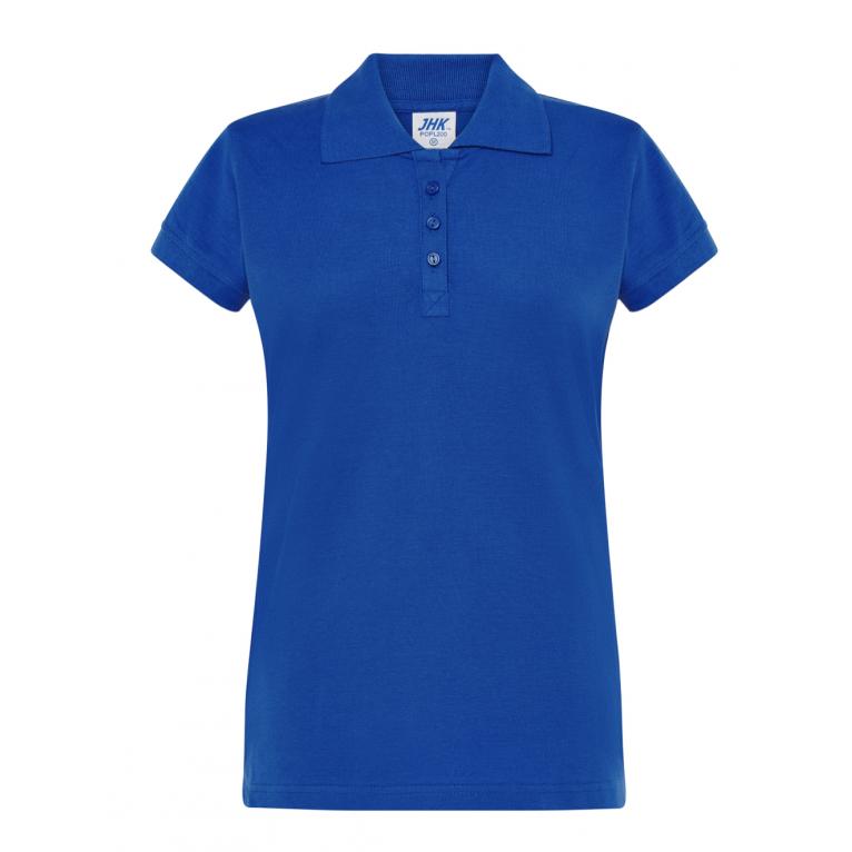 Koszulka Polo Niebieska -...
