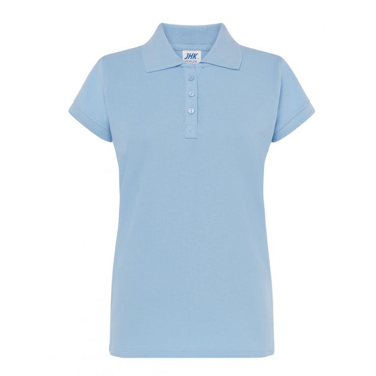 Koszulka Polo Błękitna -...