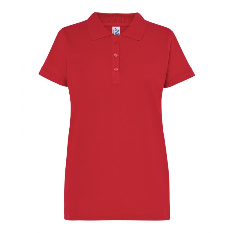 Koszulka Polo Czerwona -...
