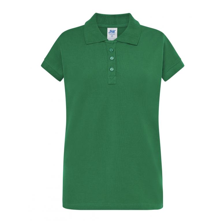 Koszulka Polo Zielona - Damska