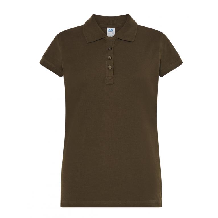 Koszulka Polo Khaki - Damska