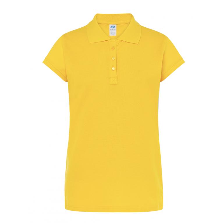 Koszulka Polo Żółty- Damska