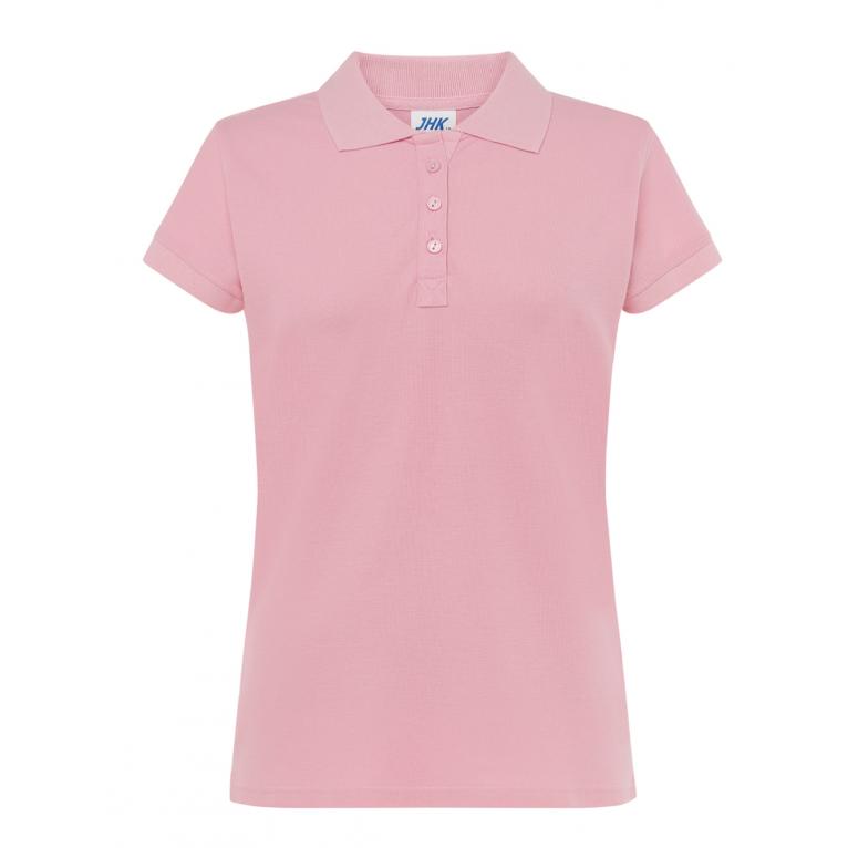 Koszulka Polo Różowa - Damska