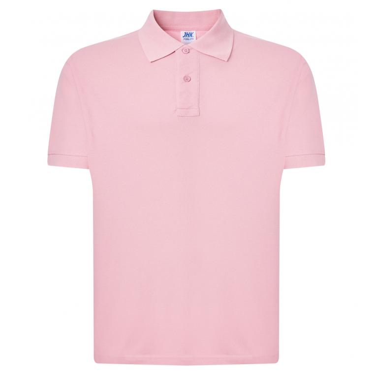 Koszulka Polo Różowa - Męska