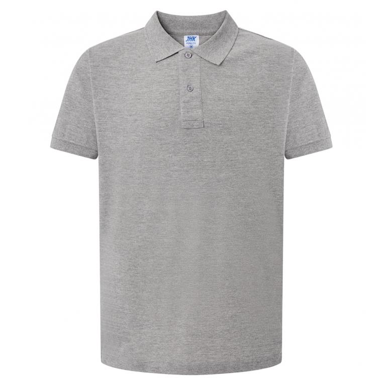 Koszulka Polo Szara - Męska