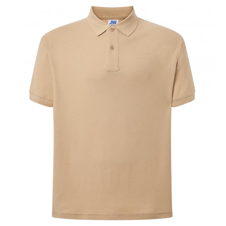 Koszulka Polo Beżowa - Męska