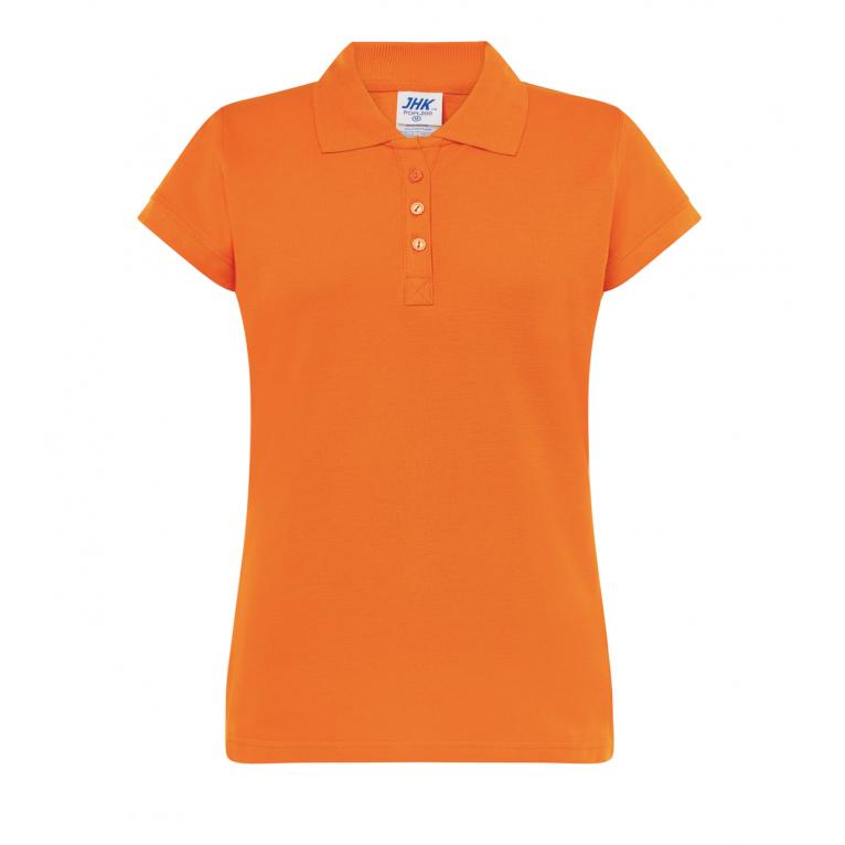 Koszulka Polo Pomarańczowa...