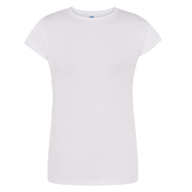 T-Shirt Biały - Damski