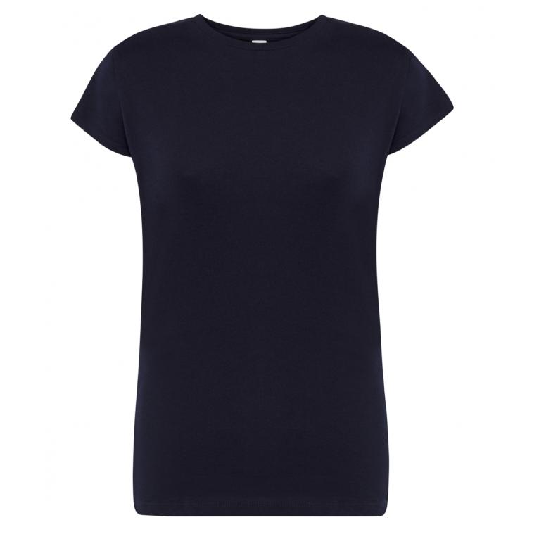 T-Shirt Granatowy - Damski