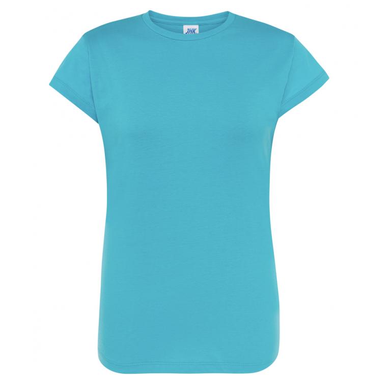 T-Shirt Turkusowy - Damski
