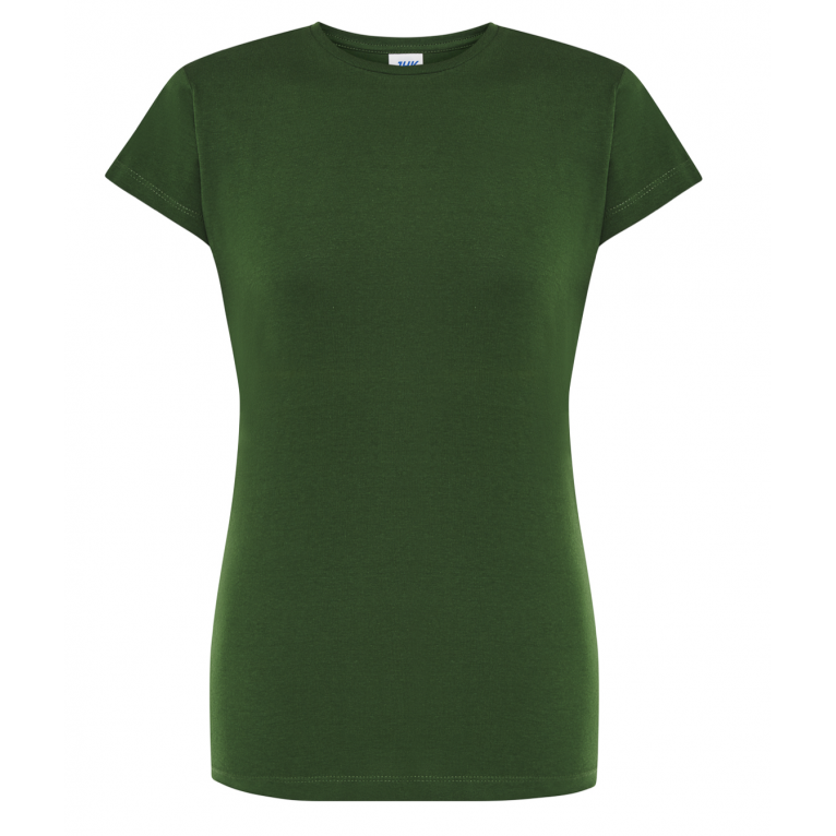 T-Shirt Butelkowa Zieleń -...