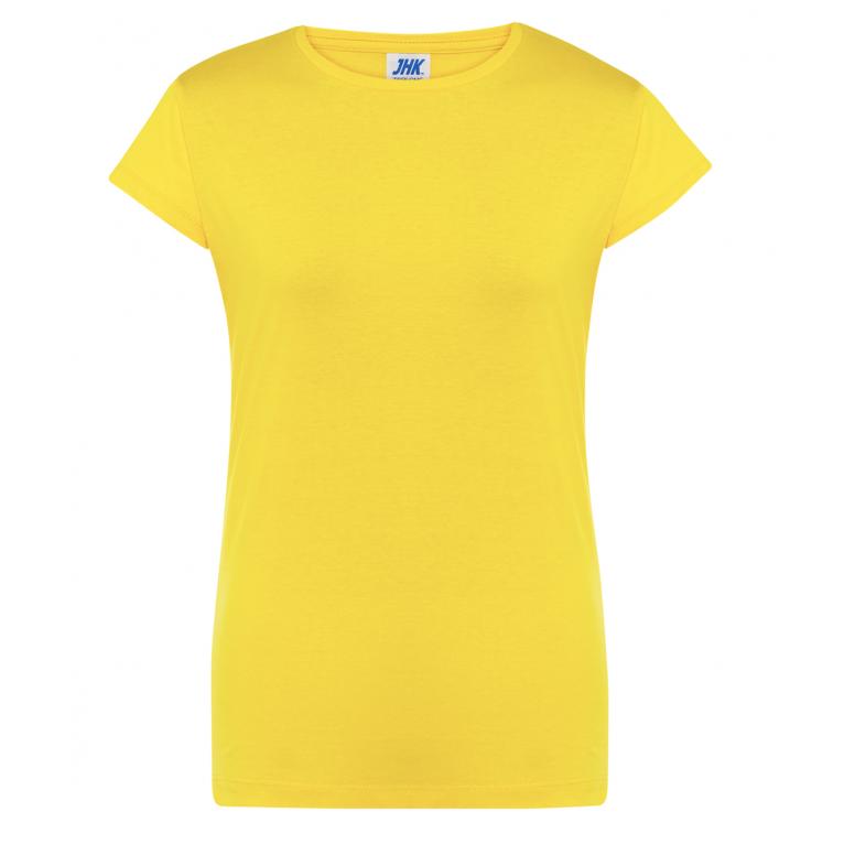 T-Shirt Żółty - Damski